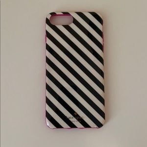 Kate Spade Striped iPhone 7 Plus Case